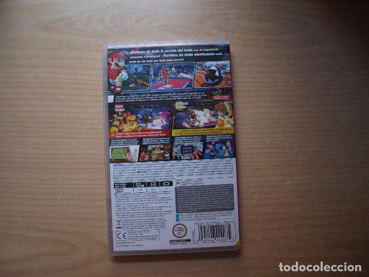 Videojuegos y Consolas Nintendo Switch: MARIO TENNIS ACES - NUEVO - Foto 2 - 205535841