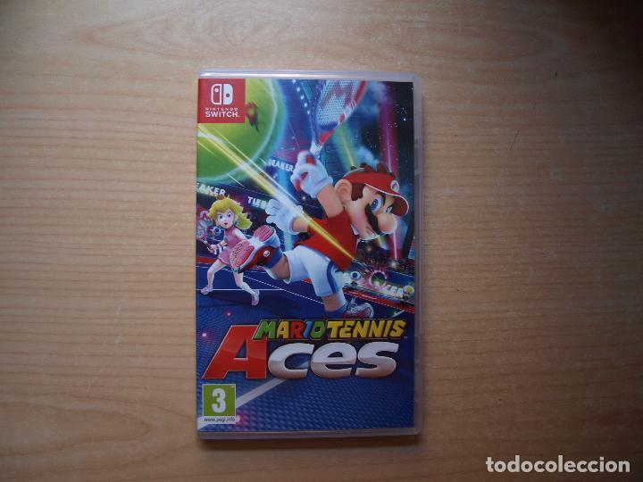 MARIO TENNIS ACES - NUEVO (Juguetes - Videojuegos y Consolas - Nintendo - Switch)
