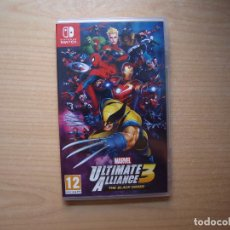 Videojuegos y Consolas Nintendo Switch: MARVEL ULTIMATE ALLIANCE 3: THE BLACK ORDER - NUEVO. Lote 205584275
