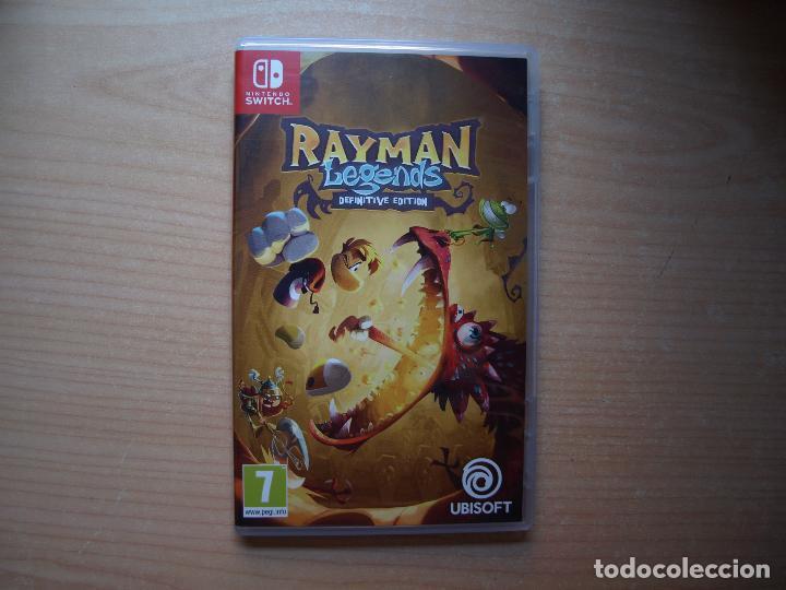 RAYMAN LEGENDS DEFINITIVE EDITION - NUEVO (Juguetes - Videojuegos y Consolas - Nintendo - Switch)