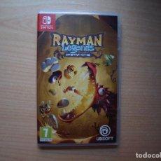 Videojuegos y Consolas Nintendo Switch: RAYMAN LEGENDS DEFINITIVE EDITION - NUEVO. Lote 205585571