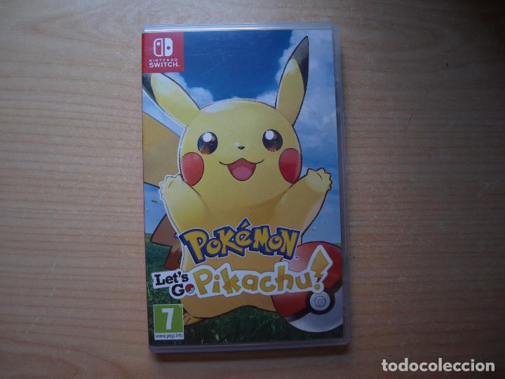 POKEMON LET'S GO PIKACHU - NUEVO (Juguetes - Videojuegos y Consolas - Nintendo - Switch)