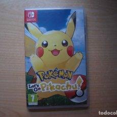 Videojuegos y Consolas Nintendo Switch: POKEMON LET'S GO PIKACHU - NUEVO. Lote 205585760