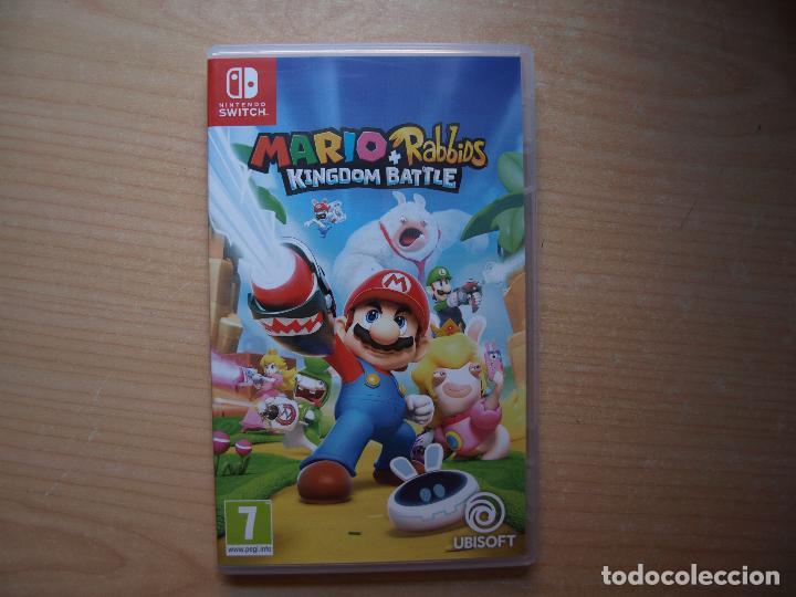 MARIO RABBIDS KINGDOM BATTLE - NUEVO (Juguetes - Videojuegos y Consolas - Nintendo - Switch)