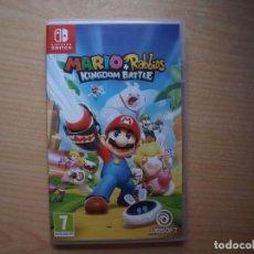 Videojuegos y Consolas Nintendo Switch: MARIO RABBIDS KINGDOM BATTLE - NUEVO. Lote 205586402