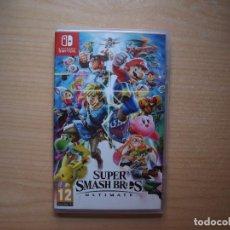 Videojuegos y Consolas Nintendo Switch: SUPER SMASH BROS ULTIMATE - NUEVO. Lote 205586591