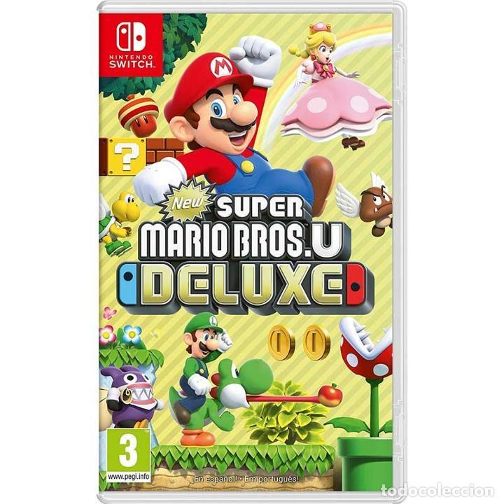 NEW SUPER MARIO BROS. U DELUXE - NINTENDO SWITCH - VIDEOJUEGO (Juguetes - Videojuegos y Consolas - Nintendo - Switch)