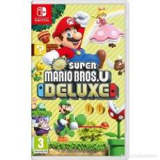 Videojuegos y Consolas Nintendo Switch: NEW SUPER MARIO BROS. U DELUXE - NINTENDO SWITCH - VIDEOJUEGO. Lote 205891247