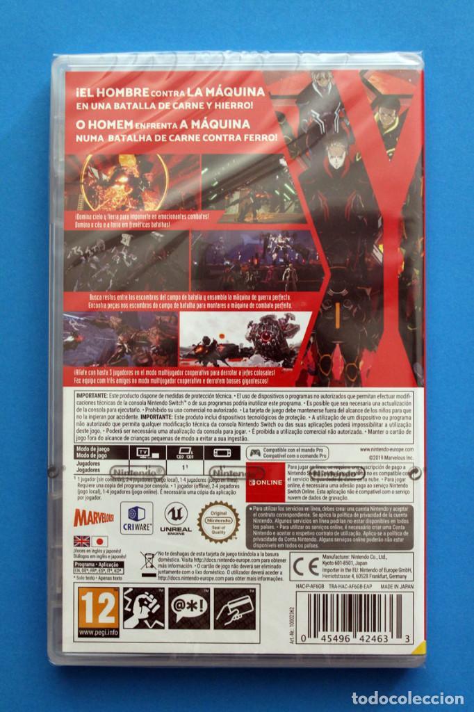 Videojuegos y Consolas Nintendo Switch: Nintendo Switch - Daemon X Machina - Precintado - Foto 2 - 206245370