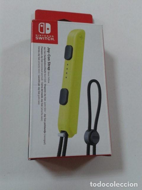 NINTENDO - CORREA JOY-CON, COLOR AMARILLO (NINTENDO SWITCH) (Juguetes - Videojuegos y Consolas - Nintendo - Switch)