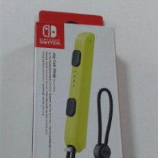 Videojuegos y Consolas Nintendo Switch: NINTENDO - CORREA JOY-CON, COLOR AMARILLO (NINTENDO SWITCH). Lote 206282063