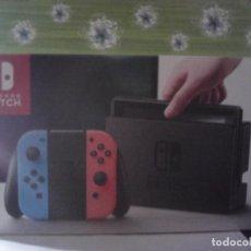 Videojuegos y Consolas Nintendo Switch: CAJA ORIGINAL NINTENDO SWITCH COMPLETA Y EN MUY BUEN ESTADO. Lote 209596576