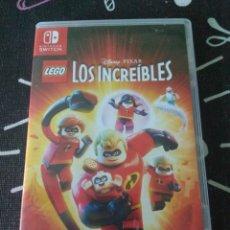 Videojuegos y Consolas Nintendo Switch: CAJA Y CARATULA LEGO LOS INCREIBLES NINTENDO SWITCH. Lote 210785016