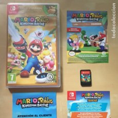 Videojuegos y Consolas Nintendo Switch: MARIO + RABBIDS - GOLD EDITION - MUY LIMITADO - PAL ESPAÑA - NINTENDO SWITCH. Lote 213534581