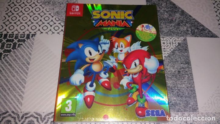 SONIC MANIA PLUS NINTENDO SWITCH PAL ESPAÑA PRECINTADO (Juguetes - Videojuegos y Consolas - Nintendo - Switch)
