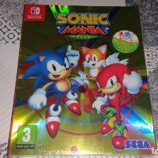Videojuegos y Consolas Nintendo Switch: SONIC MANIA PLUS NINTENDO SWITCH PAL ESPAÑA PRECINTADO. Lote 220717406