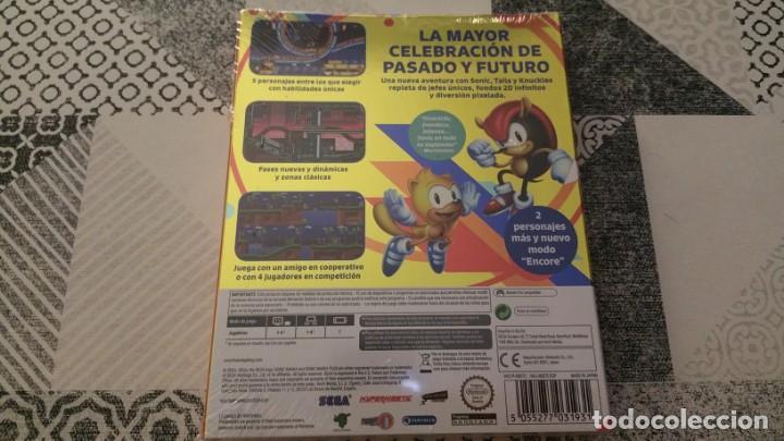 Videojuegos y Consolas Nintendo Switch: SONIC MANIA PLUS NINTENDO SWITCH PAL ESPAÑA PRECINTADO - Foto 2 - 220717406