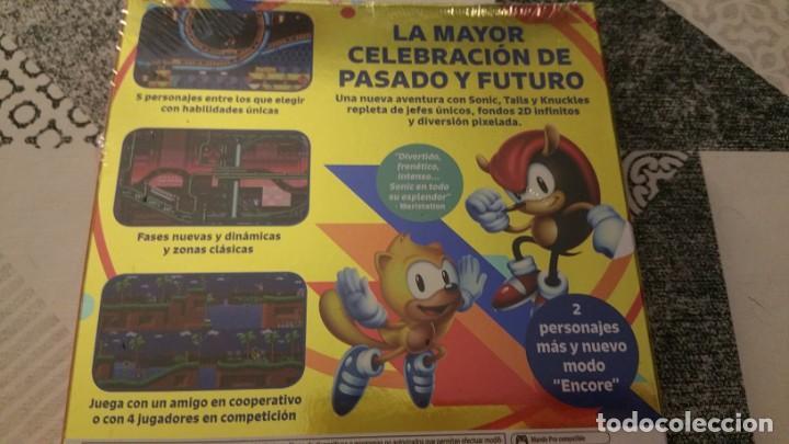 Videojuegos y Consolas Nintendo Switch: SONIC MANIA PLUS NINTENDO SWITCH PAL ESPAÑA PRECINTADO - Foto 3 - 220717406