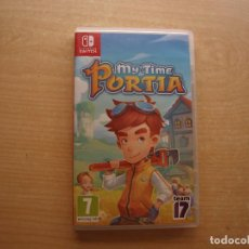 Videojuegos y Consolas Nintendo Switch: MY TIME AT PORTIA - NINTENDO SWITCH - CASI NUEVO. Lote 221338282