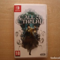 Videojuegos y Consolas Nintendo Switch: CALL OF CTHULHU - NINTENDO SWITCH - CASI NUEVO. Lote 221338462