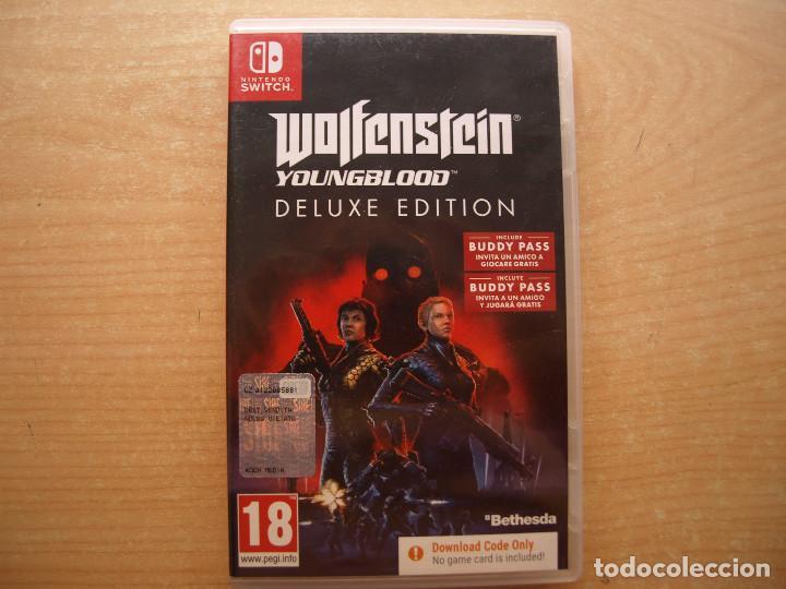 WOLFENSTEIN YOUNGBLOOD DE LUXE EDITION - NINTENDO SWITCH - CASI NUEVO (Juguetes - Videojuegos y Consolas - Nintendo - Switch)