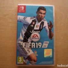 Videojuegos y Consolas Nintendo Switch: FIFA 19 - NINTENDO SWITCH - CASI NUEVO. Lote 221338781