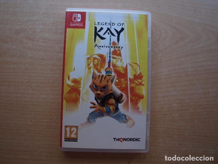 LEGEND OF KAY - ANIVERSARY - NINTENDO SWITCH - CASI NUEVO (Juguetes - Videojuegos y Consolas - Nintendo - Switch)