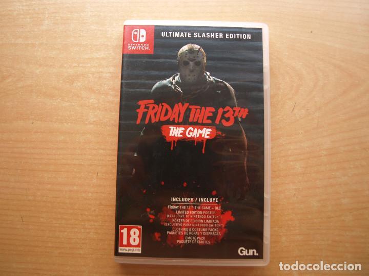 FRIDAY THE 13TH - THE GAME - NINTENDO SWITCH - CASI NUEVO (Juguetes - Videojuegos y Consolas - Nintendo - Switch)