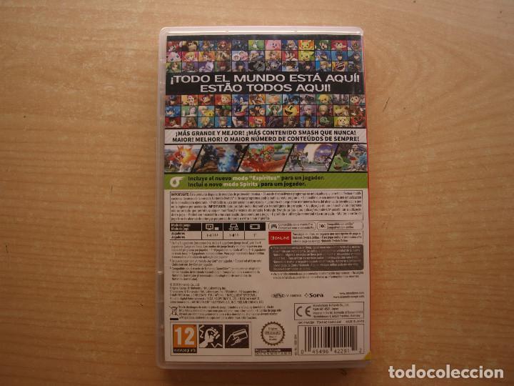 Videojuegos y Consolas Nintendo Switch: SUPER SMASH BROS ULTIMATE - NINTENDO SWITCH - CASI NUEVO - Foto 2 - 221339470