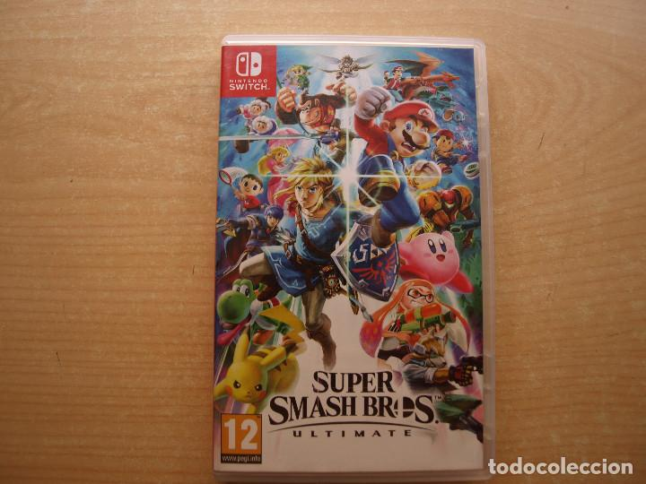 SUPER SMASH BROS ULTIMATE - NINTENDO SWITCH - CASI NUEVO (Juguetes - Videojuegos y Consolas - Nintendo - Switch)