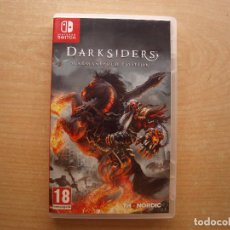 Videojuegos y Consolas Nintendo Switch: DARKSIDERS WARMASTERED EDITION - NINTENDO SWITCH - CASI NUEVO. Lote 221339778
