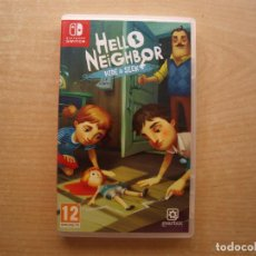 Videojuegos y Consolas Nintendo Switch: HELLO NEIGHBOR WIDE & SEEK- NINTENDO SWITCH - CASI NUEVO. Lote 221340208
