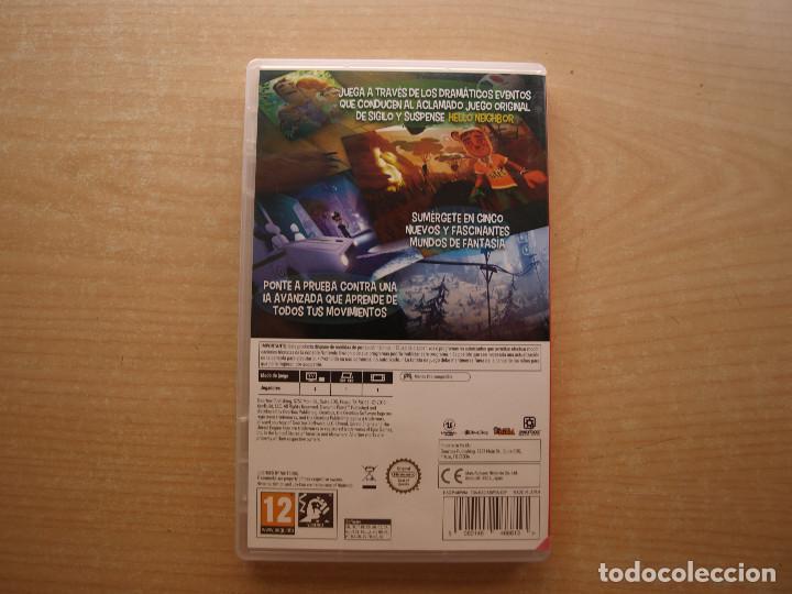 Videojuegos y Consolas Nintendo Switch: HELLO NEIGHBOR WIDE & SEEK- NINTENDO SWITCH - CASI NUEVO - Foto 2 - 221340208
