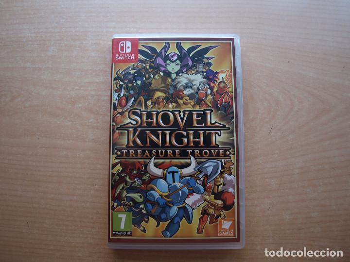 SHOVEL KNIGHT TREASURE TROVE- NINTENDO SWITCH - CASI NUEVO (Juguetes - Videojuegos y Consolas - Nintendo - Switch)