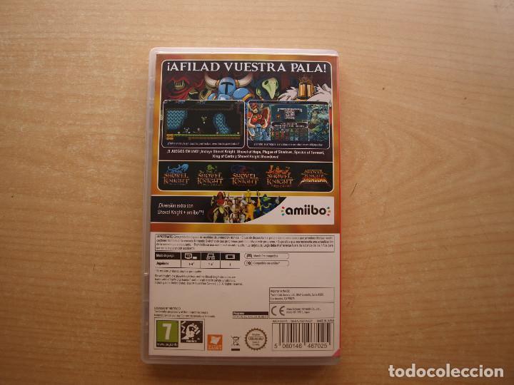 Videojuegos y Consolas Nintendo Switch: SHOVEL KNIGHT TREASURE TROVE- NINTENDO SWITCH - CASI NUEVO - Foto 2 - 221340422