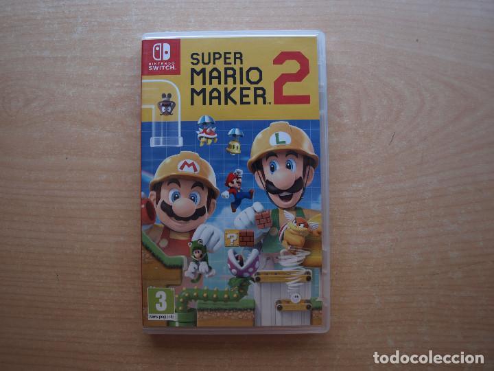 SUPER MARIO MAKER 2- NINTENDO SWITCH - CASI NUEVO (Juguetes - Videojuegos y Consolas - Nintendo - Switch)
