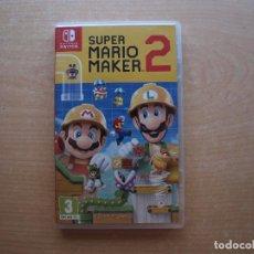 Videojuegos y Consolas Nintendo Switch: SUPER MARIO MAKER 2- NINTENDO SWITCH - CASI NUEVO. Lote 221340558