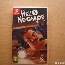 Videojuegos y Consolas Nintendo Switch: HELLO NEIGHBOR - NINTENDO SWITCH - CASI NUEVO. Lote 221340705