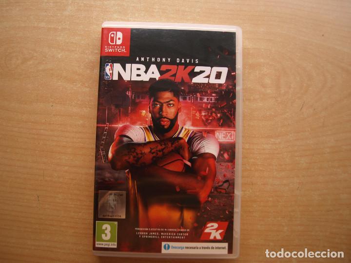 ANTHONY DAVIS NBA2K20 - NINTENDO SWITCH - CASI NUEVO (Juguetes - Videojuegos y Consolas - Nintendo - Switch)