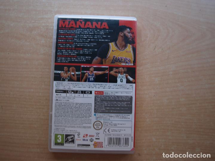 Videojuegos y Consolas Nintendo Switch: ANTHONY DAVIS NBA2K20 - NINTENDO SWITCH - CASI NUEVO - Foto 2 - 221340901