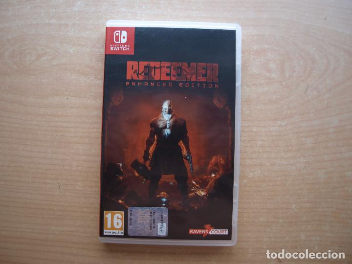 Videojuegos y Consolas Nintendo Switch: REDEEMER. ENHANCED EDITION - NINTENDO SWITCH - CASI NUEVO - Foto 1 - 221341260