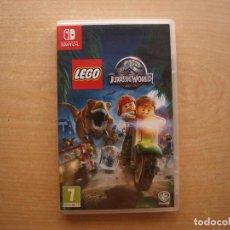 Videojuegos y Consolas Nintendo Switch: LEGO JURASSIC WORLD - NINTENDO SWITCH - CASI NUEVO. Lote 221341508