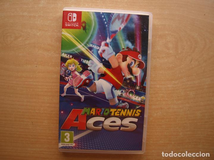 MARIO TENNIS ACES - NINTENDO SWITCH - CASI NUEVO (Juguetes - Videojuegos y Consolas - Nintendo - Switch)
