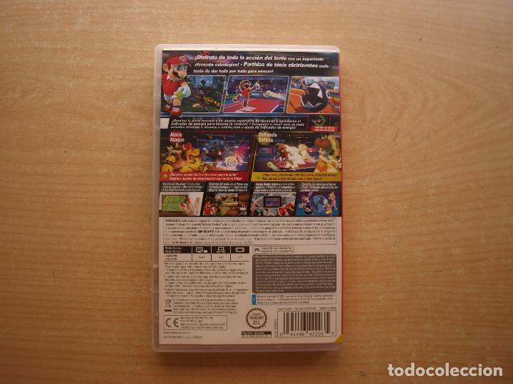 Videojuegos y Consolas Nintendo Switch: MARIO TENNIS ACES - NINTENDO SWITCH - CASI NUEVO - Foto 2 - 221341730