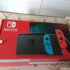 Videojuegos y Consolas Nintendo Switch: CAJA VACIA, INTERIORES NINTENDO SWITCH. Lote 222048481