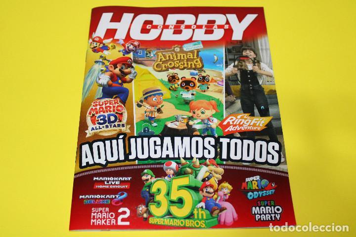 HOBBY CONSOLAS AQUÍ JUGAMOS TODOS - SUPER MARIO, ANIMAL CROSSING - NINTENDO SWITCH - 31 PÁG. - 2020 (Juguetes - Videojuegos y Consolas - Nintendo - Switch)
