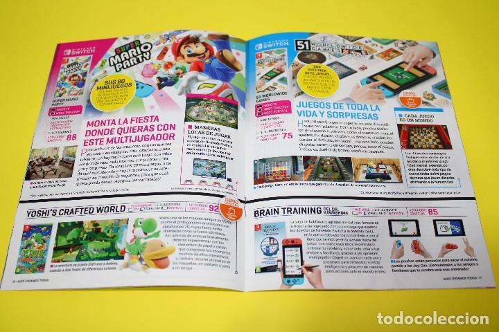 Videojuegos y Consolas Nintendo Switch: HOBBY CONSOLAS Aquí Jugamos Todos - Super Mario, Animal Crossing - Nintendo Switch - 31 pág. - 2020 - Foto 3 - 224377721