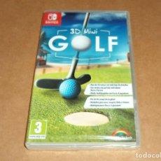 Videojuegos y Consolas Nintendo Switch: 3D MINI GOLF , A ESTRENAR PARA NINTENDO SWITCH, PAL. Lote 234343100