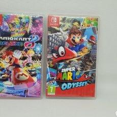 Videojuegos y Consolas Nintendo Switch: LOTE 2 CAJAS NINTENDO SWITCH. VACIAS. MARIO KART. SUPER MARIO ODYSSEY. NO GAME BOY. NO NES.. Lote 238414265