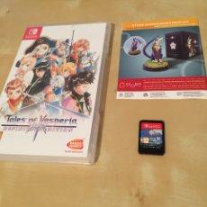 Videojuegos y Consolas Nintendo Switch: TALES OF VESPERIA - PAL ESPAÑA - NINTENDO SWITCH. Lote 240690710